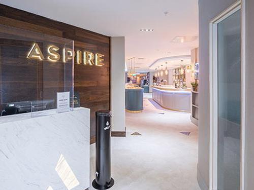 Aspire Lounge, London Luton_UK