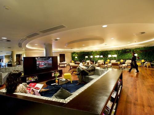 Amedee Maingard Lounge, Mauritius S.S.R. Int'l