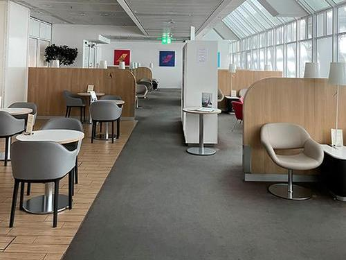 Air France Lounge_Munich Franz-Josef Strauss_Germany