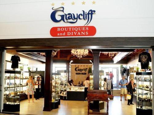 Graycliff Divans Airport Lounge, Bahamas