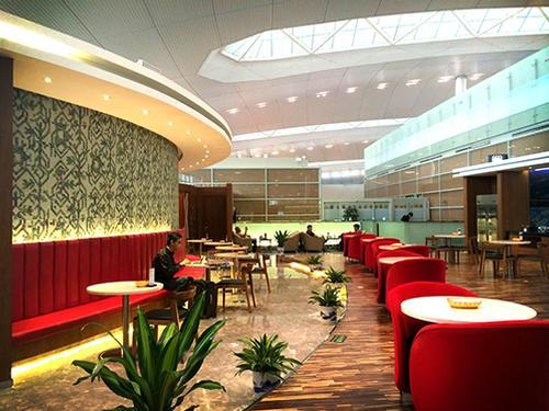 First Class Lounge V7, Nanjing Lukou Intl, China