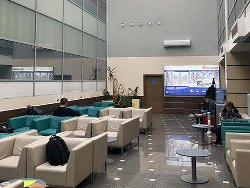 Novosibirsk Tolmachevo Intl OVB TerminalA