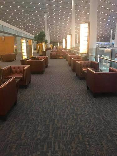 Air China Business Class Lounge, Beijing Capital International, China