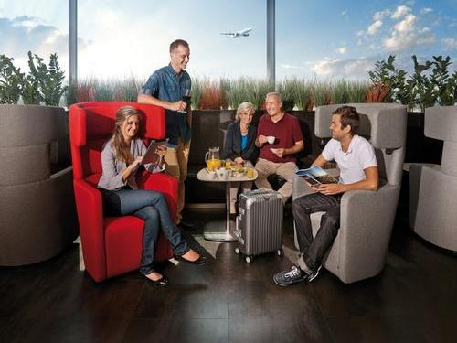 Erste Premier Lounge, Prague Ruzyne