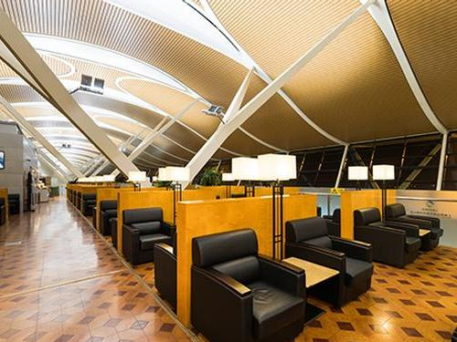 First Class Lounge (No.69) Shanghai Pudong_China