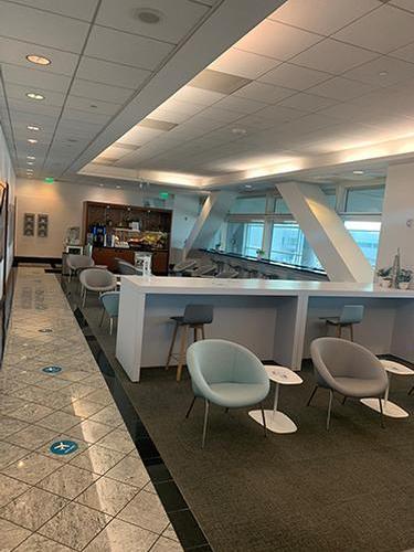 Air France - KLM Lounge, San Francisco CA Intl_USA