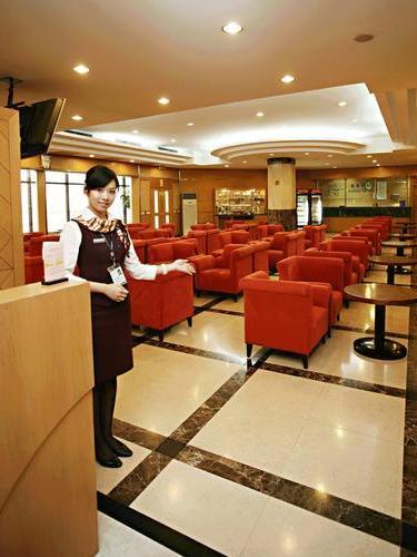 Business Class Lounge B11, Hongqiao International Shanghai