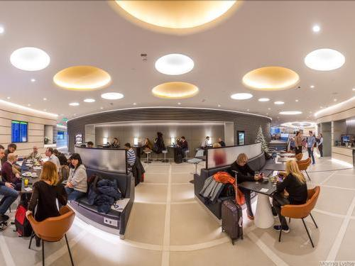 Moscow lounge, Moscow Sheremetyevo, Russia