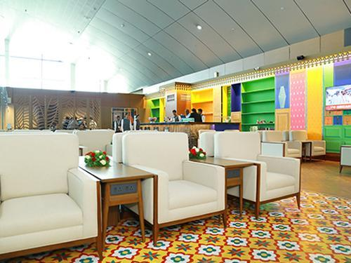 Bird Lounge, Thiruvananthapuram Intl, India