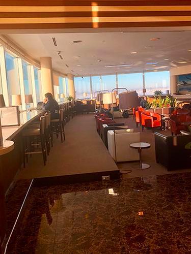The Shanyrak Lounge, Astana Nursultan Nazarbayev Intl, Kazakhstan