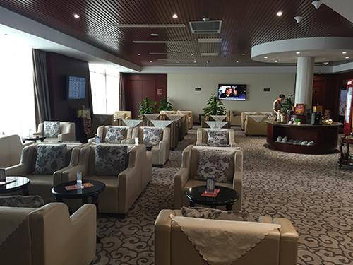 First Class Lounge (No. 22)_Tianjin Binhai Intl_China