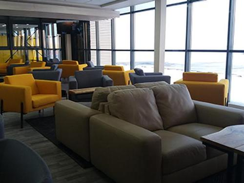 International Business Lounge, Timisoara International, Romania