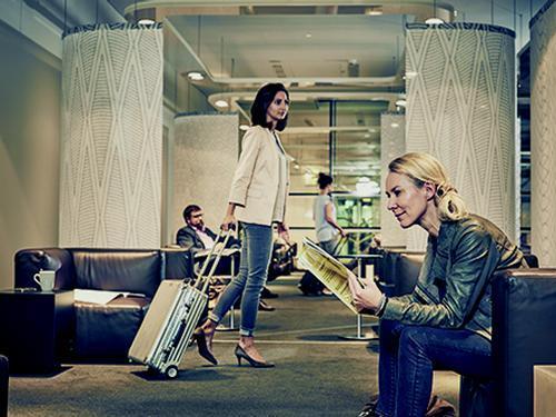 Sky Lounge Schengen, Vienna Schwechat, Austria