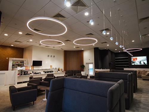 Business Lounge, Volgograd Intl, Russia